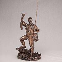 Статуэтка Рыбак Veronese (29 см) 71125A1 Италия