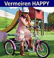 Трехколесный велосипед для реабилитации детей с ДЦП Подробнее 8-13 лет - Vermeiren HAPPY Special Tricycle Bike