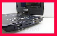 DVD 9 Портативный Проигрыватель. Телевизор портативный для авто!Акция