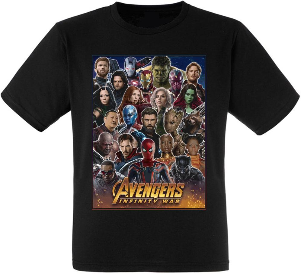 Футболка Avengers: Infinity War