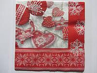 Новодние и рождественские салфетки