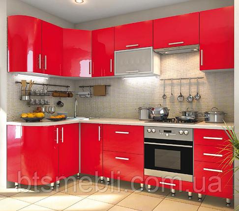 Кухня High Gloss 1.3м*2.6м, фото 2