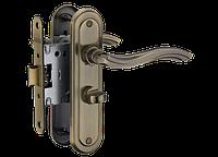 Дверная ручка на короткой планке A-2002 wc