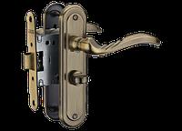 Дверная ручка на короткой планке A-2001 wc