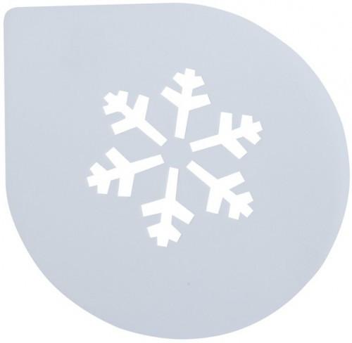 Трафарет для Торта Снежинка  250мм (шт) (Арт.EM8747)