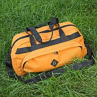 Сумка спортивная дорожная Lerom L50 оранжевая
