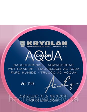 Розовый  аквагрим AQUACOLOR 55мл(оттенок R 30 P)