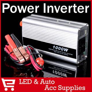 Преобразователь DC авто инвертор 12V-220V   1000W   USB