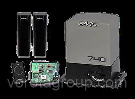 Автоматика для откатных ворот Faac 740 (комплект)