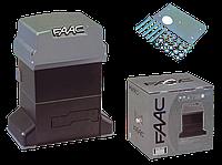 Автоматика  Faac 844 ER (комплект) для откатных ворот массой до 1800кг