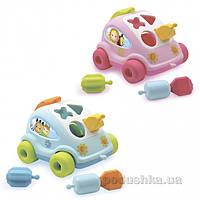 Развивающая игрушка Cotoons Машинка-сортер 2 види Smoby 211118