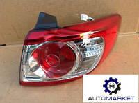 Фонарь задний левый / правый (внешний) Hyundai Santa Fe II 2009-2012 (CM), фото 1
