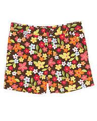 Поплиновые шорты в цветочек (Размер 4Т) Gymboree (США)