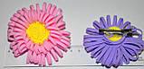 Дитячі квіточки для волосся на качечку (12 шт), фото 2