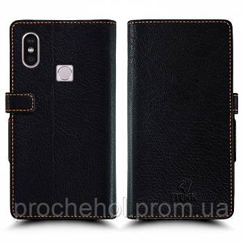 Чехол книжка Stenk Wallet для Xiaomi Redmi Note 5 Pro Чёрный