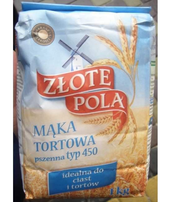 Мука пшеничная Tortowa Zlote Pola 1кг