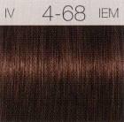 Шварцкопф Игора краска 4-68 Светло-Коричневый Шоколадно-Красный Igora Royal Schwarzkopf 60 мл