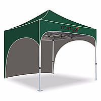 Палатка  3х3. палатка гармошка. Раздвижная палатка торговая