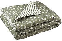 Одеяло зимнее полуторное 140х205 см с силиконизированным волокном ТМ Руно 321.52