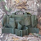Сумка поясная Mil-Tec Fanny Pack Modular System Olive, фото 4