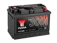 Автомобильный аккумулятор Yuasa YBX 3096 75Ач 650А (0) R
