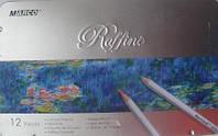 Карандаши Marco Raffine 7100/12 в металле