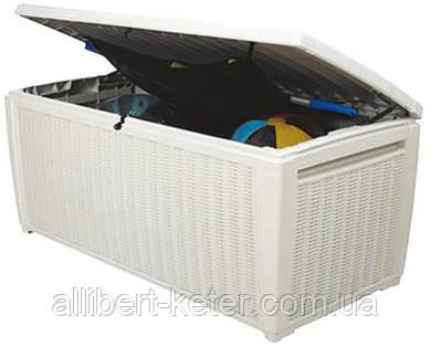 Садова скриня POOL BOX 500L білий (Keter)