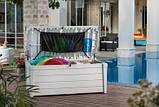 Садова скриня POOL BOX 500L білий (Keter), фото 2
