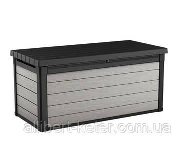 Садова скриня DENALI DUOTECH DECK BOX 380L сіро-коричнева (Keter)