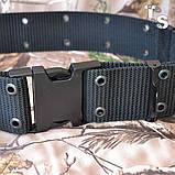 Тактический ремень MilTec LC2 US Black, фото 2
