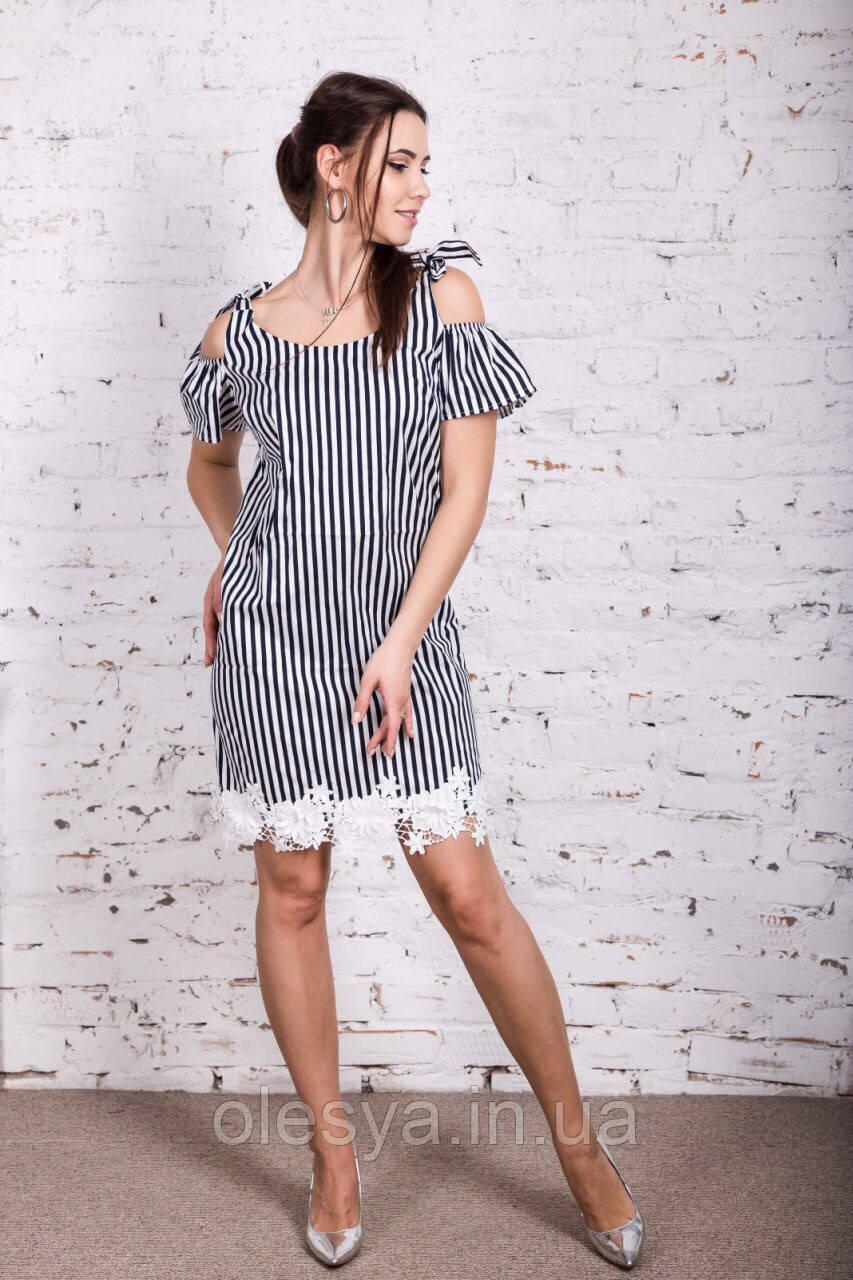 Модное молодежное платье Размеры 42- 46