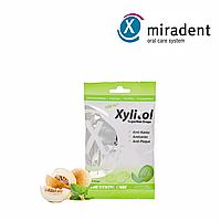 Леденец с ксилитом miradent Xylitol Drops (дыня), 26 шт.