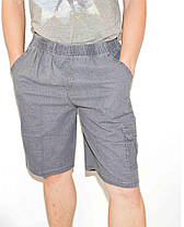 Шорты мужские льняные XL - 5XL Бриджи лен, фото 2