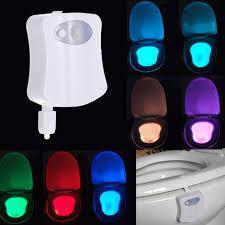 Подсветка для унитаза с датчиком движения и света LED LIGHT BOWL, фото 2