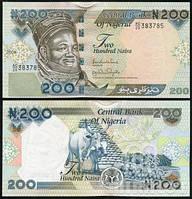 Nigeria Нигерия - 200 Naira 2007 UNC