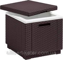 Функціональний садовий бар Ice Cube темно-коричневий (Keter)