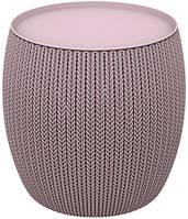 Столик KNIT COZIES TABLE фіолетовий, фото 1