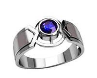 Кольцо мужское серебряное Ореон, фото 1