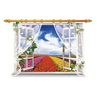 Декоративная наклейка на стену Красочный пейзаж