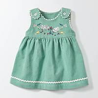 Little Maven Платье для девочки Lamb. Размер 4 года