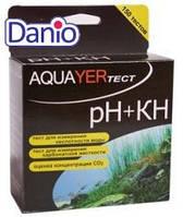 Тест Aquayer pH+КН более 150 измерений