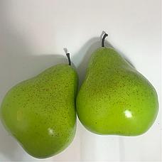 Искусственный фрукт муляж груша зеленая, фото 2