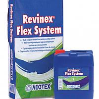 Двухкомпонентный цементный раствор REVINEX FLEX  FP 32 kg(A+B) 25+7  кг