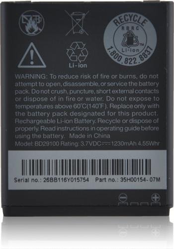 Акумуляторна батарея BD29100/BA S540 для мобільного телефону HTC A310e Explorer, A510e Wildfire S, G13, T9292 HD7
