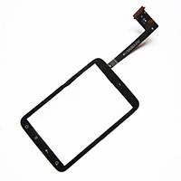 Сенсорний екран для смартфону HTC A510e Wildfire S, G13, тачскрін чорний