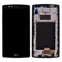 LG H810 G4 дисплей в зборі з тачскріном модуль чорний