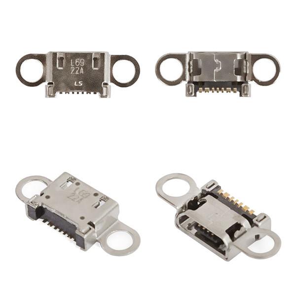 Samsung G920F G925F коннектор зарядки 7 pin, micro-USB тип B