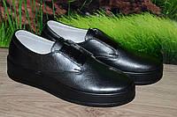 Туфли женские натуральная кожа М47ч качество размер 37