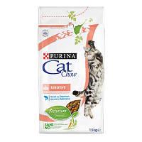 Cat Chow Sensitive Кет Чау Сенситив корм для кошек с чувствительным пищеварением1.5 кг