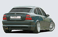 Opel Vectra B опель вектра б rieger пороги ригер irmscher tuning opc тюнинг steinmetz штайнмец опц ирмшер, фото 1